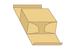 上下插口盒紙箱