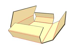 十字盒紙箱
